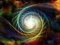 Зарево внутреннего движения Стоковое Фото