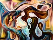 Зарево внутренних цветов бесплатная иллюстрация