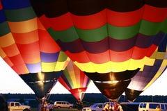 зарево воздушного шара стоковое изображение rf