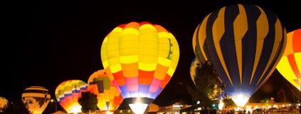 зарево воздушного шара Стоковая Фотография