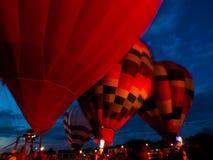 Зарево воздушного шара Стоковые Фотографии RF