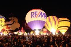 Зарево воздушного шара Стоковые Фото