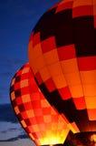 Зарево воздушного шара Стоковое фото RF
