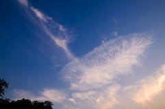 Зарево захода солнца Стоковые Фотографии RF