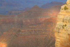 зарево каньона грандиозное Стоковая Фотография
