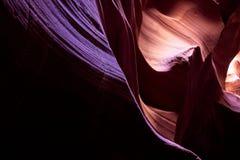 Зарево каньона шлица стоковые изображения rf