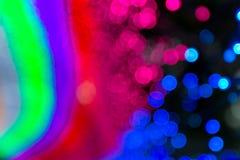 Зарево сада Дубай Стоковое Фото