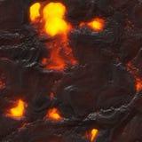 Зарево увяло картина пламени естественная Стоковое фото RF