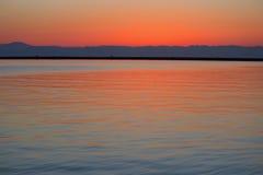 Зарево утра стоковое изображение