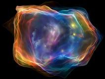 Зарево частицы разума Стоковое Изображение