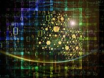 Зарево частицы Стоковые Изображения