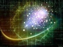 Зарево частицы Стоковое Изображение RF