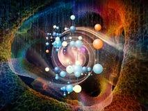 Зарево частиц Стоковое Фото