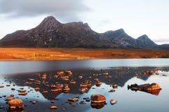 Зарево Scottish Стоковая Фотография