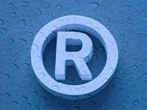 зарегистрированный товарный знак Стоковые Изображения RF