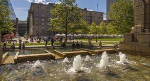 заречье городской финансовохозяйственный massachusetts США boston стоковые фотографии rf
