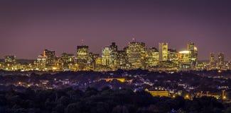 заречье городской финансовохозяйственный massachusetts США boston Стоковое Фото