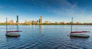 заречье городской финансовохозяйственный massachusetts США boston Стоковая Фотография