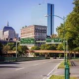 заречье городской финансовохозяйственный massachusetts США boston Стоковые Изображения