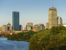 заречье городской финансовохозяйственный massachusetts США boston Стоковые Изображения RF