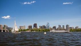 заречье городской финансовохозяйственный massachusetts США boston Стоковая Фотография RF