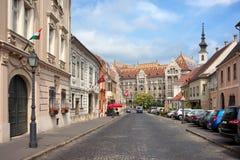 Заречье замока в Будапешт стоковые изображения rf