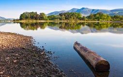 Заречье озера, Cumbria, Великобритания Стоковые Фото