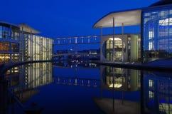 Заречье правительства в Берлин Стоковые Изображения RF