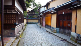 Заречье самураев Nagamachi стоковая фотография