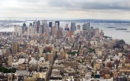 заречье финансовохозяйственное New York Стоковые Фото