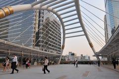 заречье финансовохозяйственный самомоднейший s зданий bankok Стоковое фото RF