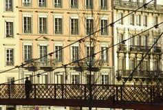 заречье Франция lyon lyons старый Стоковое Изображение RF
