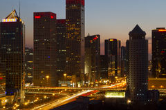 заречье централи дела Пекин Стоковое фото RF