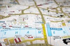 заречье greenwich london около реки thames престижности урбанского Стоковое Фото