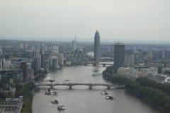 заречье greenwich london около реки thames престижности урбанского Стоковое фото RF