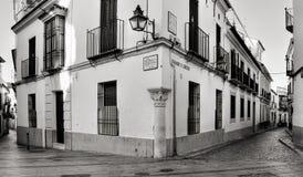 Заречье Juderia La в Cordoba, Испании Стоковые Фотографии RF