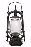 Заржаветая винтажная лампа Стоковые Изображения