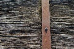 Заржаветая деревянная текстура предпосылки Стоковые Фотографии RF
