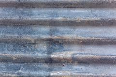 Заржаветая плита оцинкованной стали стоковое изображение rf