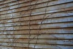 Заржаветая предпосылка двери металла текстура металла старая заржаветая поверхность металла старая Стоковые Фотографии RF