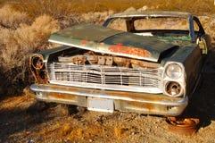 заржаветая старая автомобиля стоковые фото