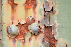 Заржаветая сталь Стоковые Изображения