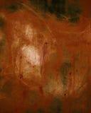 Заржаветая текстурированная стена Стоковые Фото