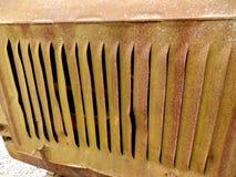 Заржаветое вентиляционное отверстие Стоковые Фото