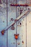 Заржаветые замки Стоковое Изображение RF