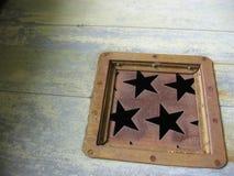 заржаветые звезды стоковые фото