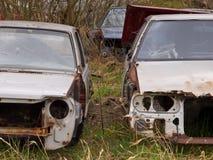 Заржаветые carwrecks Стоковое Фото