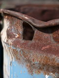 Заржаветый барабанчик масла Стоковое Изображение