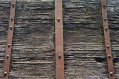 Заржаветый деревянный комод Стоковое Фото