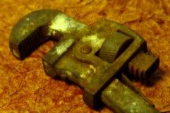 заржаветый ключ Стоковые Изображения